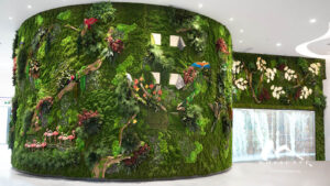 Reimagined forest interior design at OSILP China
